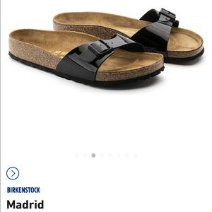 Birkenstock Madrid single strap sandals size 6-6.5